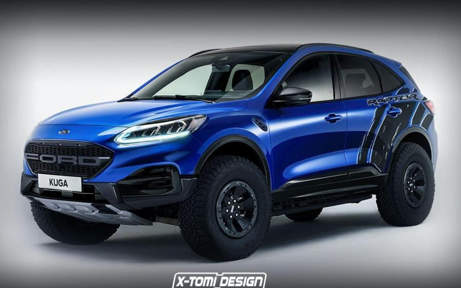 2019 Ford Kuga Raptor by X-Tomi Design