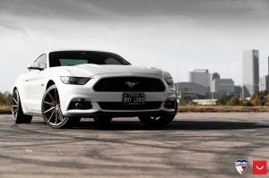 2019 Ford Mustang GT by EVS Motors on Vossen Wheels (VFS-10)