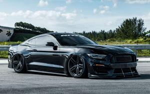 Ford Mustang GT by NITTO on Vossen Wheels (HF-1) 2019 года