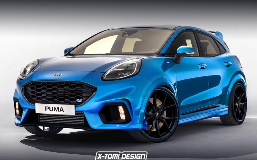 2019 Ford Puma RS by X-Tomi Design