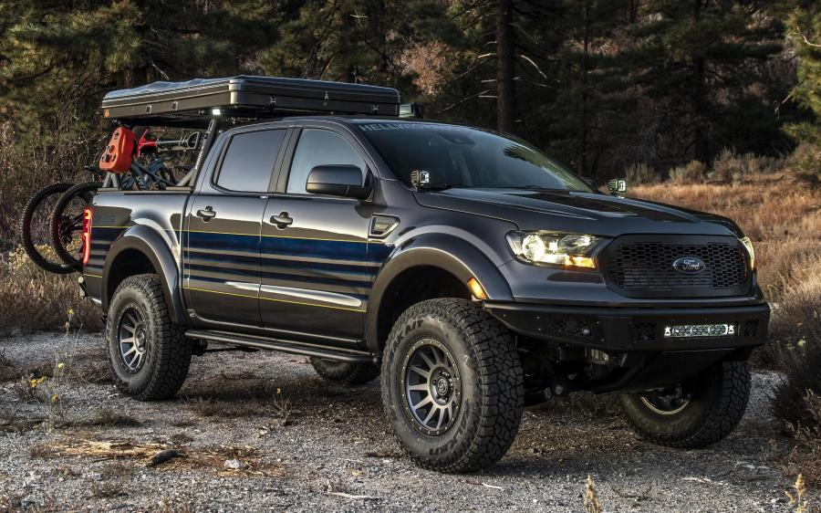 Ford Ranger Attainable Adventure by Hellwig Suspension Products '2019
