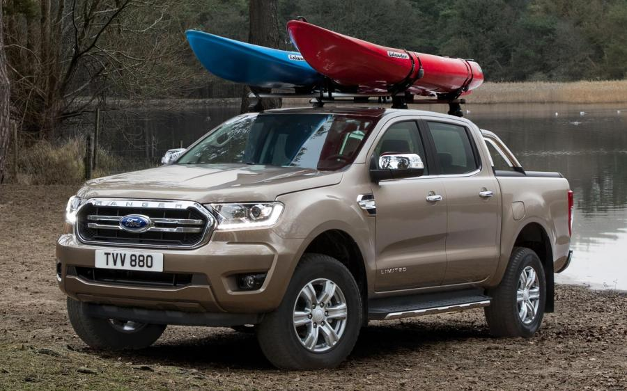 2019 Ford Ranger Limited Double Cab (EU)