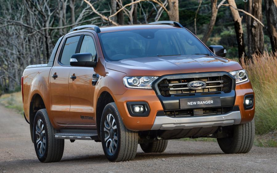 2019 Ford Ranger Wildtrak (ZA)