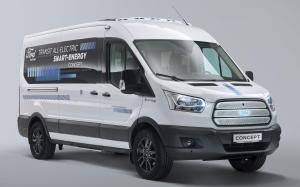 Ford Transit All Electric Smart Energy Concept 2019 года