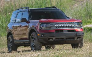 Ford Bronco Sport Badlands Preproduction