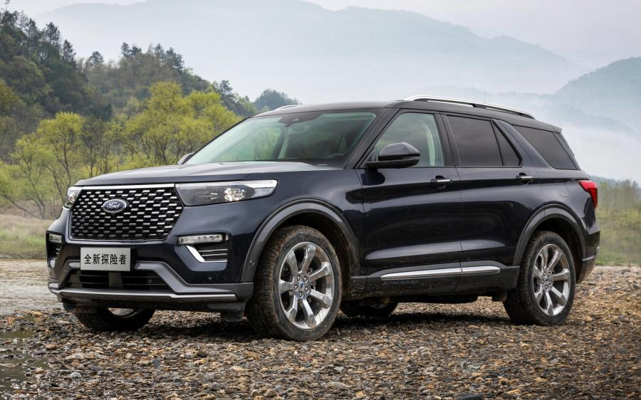 Ford Explorer Platinum (CN) '2020