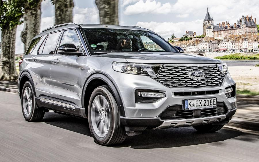 Ford Explorer Plug-in Hybrid Platinum (EU) '2020