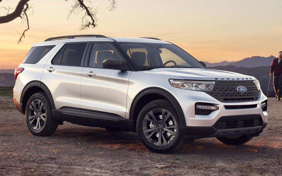 Ford Explorer XLT Sport Appearance Package (NA) '2020