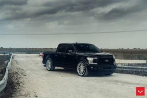 2020 Ford F-150 SuperCrew on Vossen Wheels (HF6-1) (Agate Black)