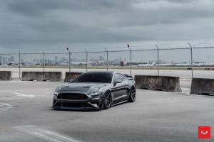 2020 Ford Mustang GT on Vossen Whells (HF-5)