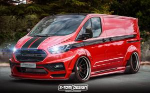 Ford Transit Custom by X-Tomi Design 2020 года