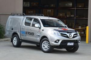 2016 Foton Tunland with Carryboy Tradesman Body