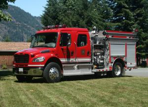 2007 Freightliner Business Class M2 106 Rosenbauer Fire Engine