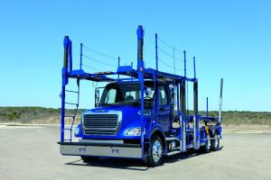 2010 Freightliner Business Class M2 112 Car Hauler