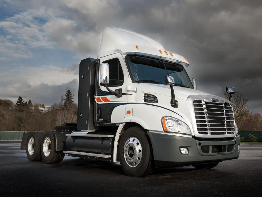 Freightliner Cascadia CNG Day Cab '2012