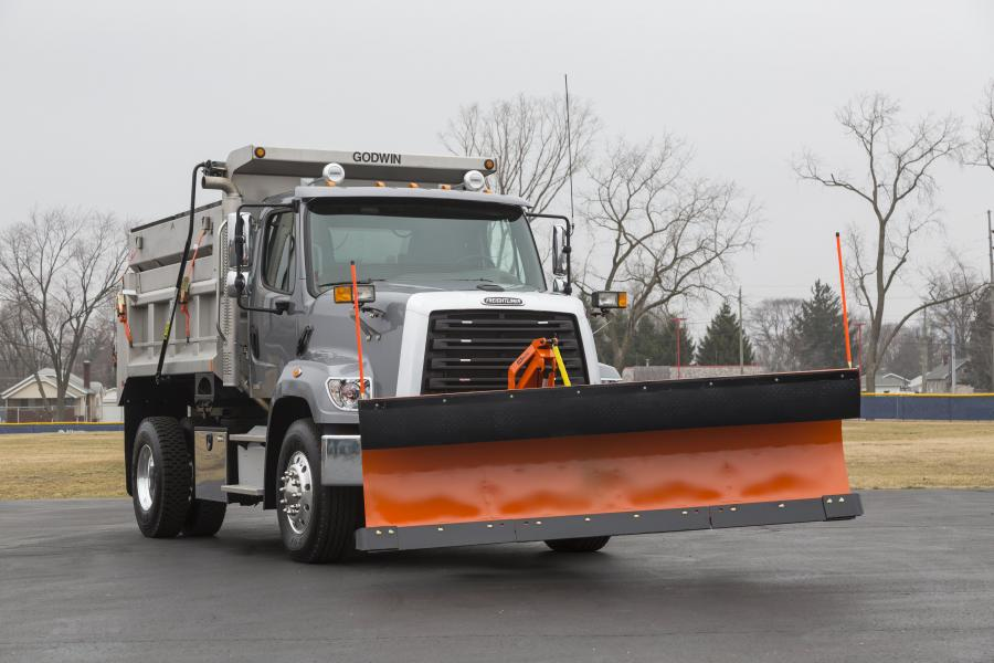 Freightliner 108 SD Truck with Godwin GoodRoads Snow Gear '2016