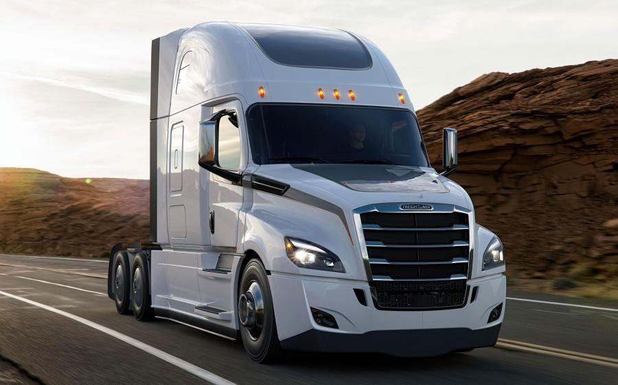 Freightliner Cascadia Raised Roof '2016