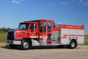 Freightliner Business Class M2 108 Full Framed 4-Man Crown Emergency Rescue Pumper 2017 года