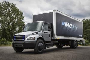 Freightliner Business Class eM2 106 Prototype 2018 года