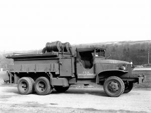 GMC CCKW 353 Firetruck by American LaFrance 1941 года