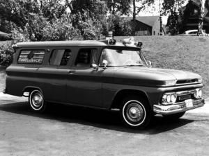 GMC 1001 Panel Ambulance Conversion 1962 года