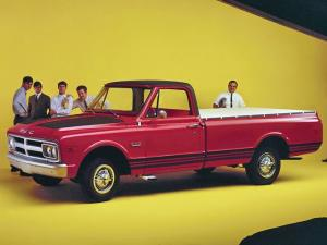 GMC C2500 Wideside Pickup 1968 года