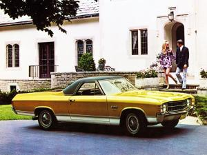 1971 GMC Sprint 454 Sedan-Pickup