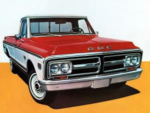 GMC C1500 Wideside Pickup 1972 года