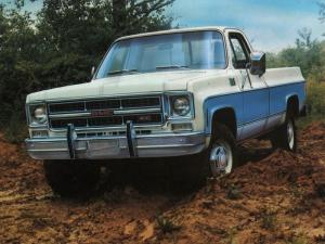 1976 GMC K1500 Wide-Side Pickup High Sierra Pkg