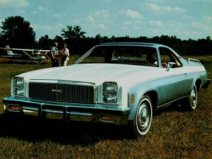 1977 GMC Sprint Custom Sedan-Pickup