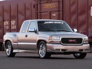 GMC Sierra Extended Cab by Xenon 1999 года