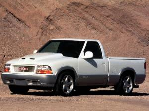 1999 GMC Sonoma Powertrain & Chassis Performance Concept