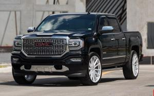 GMC Sierra 1500 Denali Crew Cab on Vossen Wheels (HF6-1) '2019