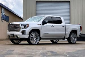2019 GMC Sierra Denali Crew Cab on Forgiato Wheels (Cravatta)