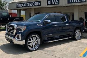 2019 GMC Sierra Denali Crew Cab on Forgiato Wheels (Decimo-L)