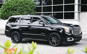 GMC Yukon Denali on Vossen Wheels (HF6-1) '2019