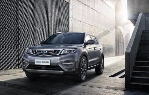 Geely Bo Yue 2018 года