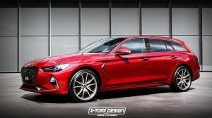 Genesis G70 Sportwagon by X-Tomi Design
