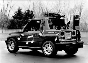 Geo Tracker Concept Vehicle