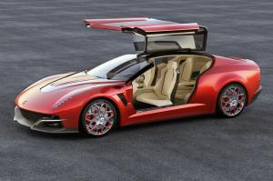Giugiaro Brivido Concept by Italdesign 2012 года