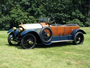 Gobron-Brillie 12CV Skiff Tourer by Rothschild