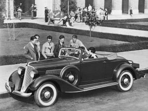 Graham Convertible Coupe 1933 года