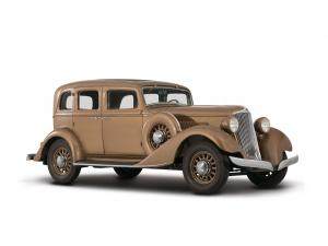 Graham Model 64 Standard Eight Sedan 1933 года