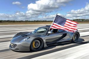 2014 Hennessey Venom GT Speed World Record