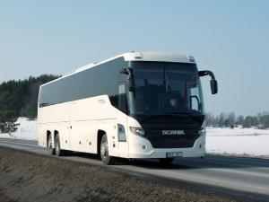 Higer Scania Touring HD 6x2 2009 года