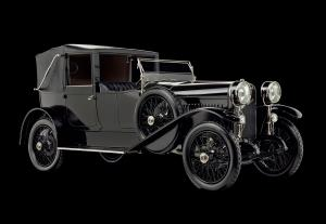 1916 Hispano-Suiza Type 32 Collapsible Brougham por Baltasar Fiol