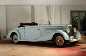 Hispano-Suiza HS26 Three-Position Drophead Coupe 1932 года