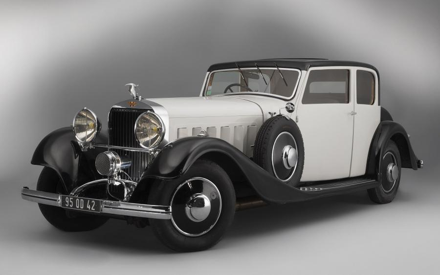 Hispano-Suiza J12 T68 Berline by Vanvooren '1934