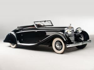 Hispano-Suiza K6 Cabriolet by Brandone 1935 года