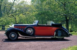 Hispano-Suiza J12 Convertible Victoria by D'Ieteren Freres '1936